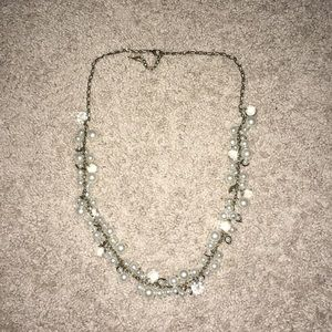 chloe + isabel long pearl necklace
